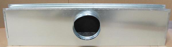 Linear Diffuser Plenum : Plenum for slot diffuser